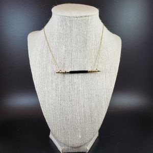 House of Harlow Rift Valley Bar Necklace